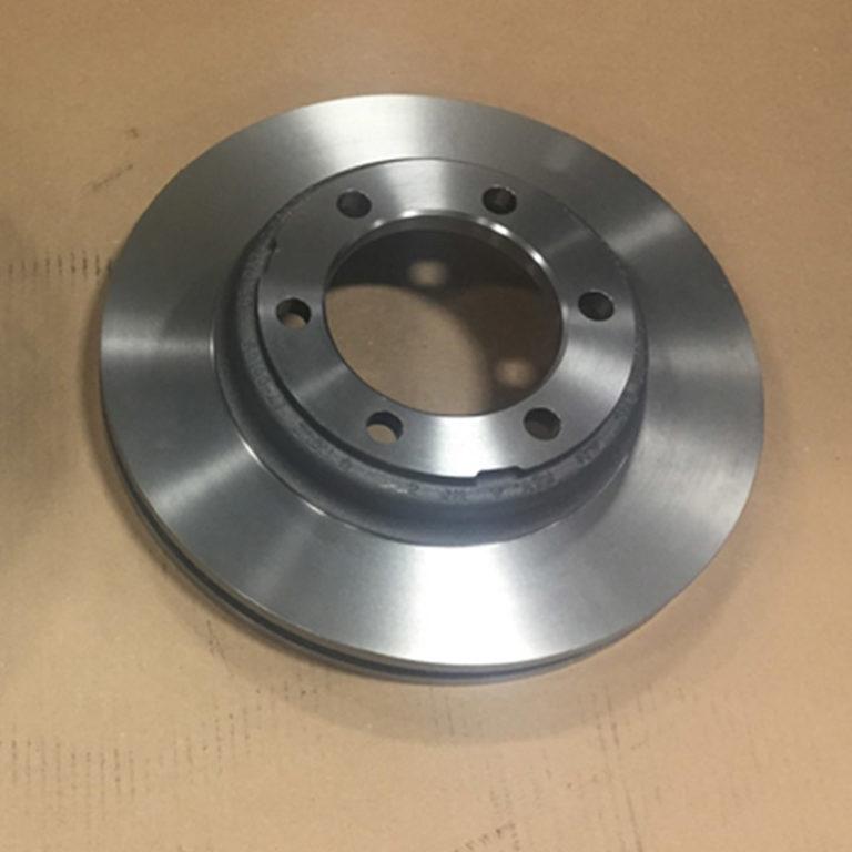Turning Brake Rotors with slugger CNGA 120404 CBN Inserts